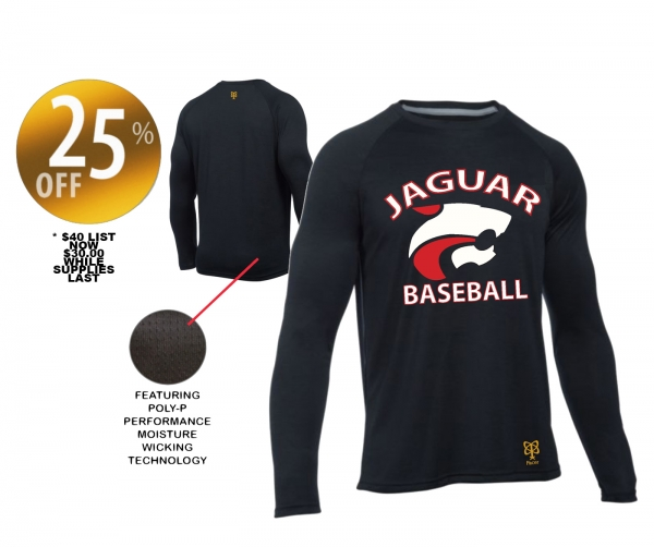 JAGS OFFICIAL ON-FIELD SUBLIMATED PERFORMANCE BP WARM-UP JERSEY  by PACER