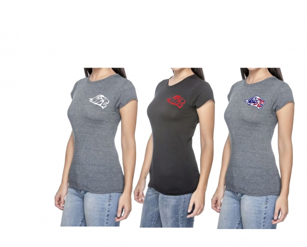 LADY LIONS QUICK DRY SCOOP TEE'S by PACER