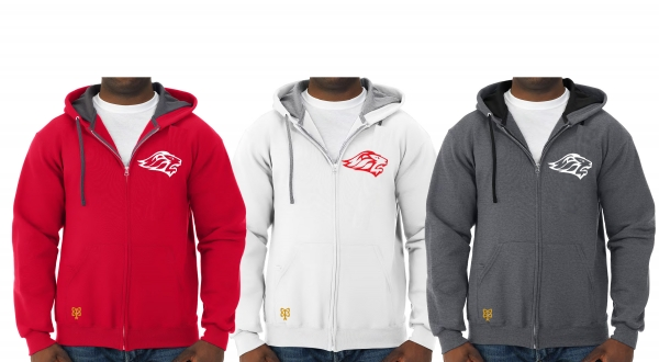 LIONS FASHION FULL ZIP HOODED JACKETS by PACER