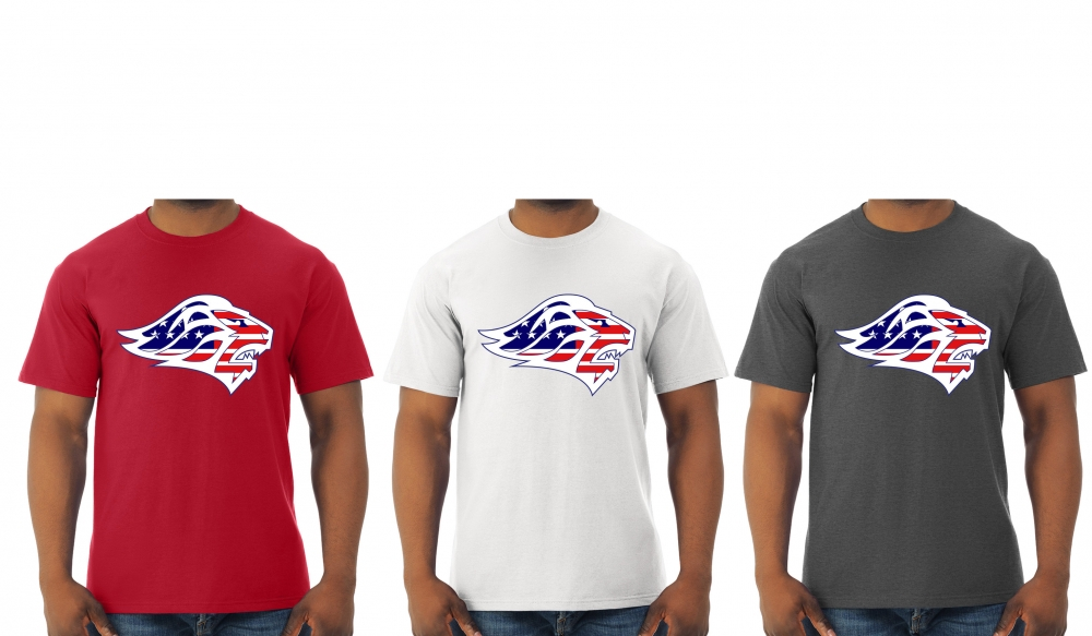 LIONS OFFICIAL STAR'S & STRIPES QUICK-DRI TEE SHIRTS by PACER