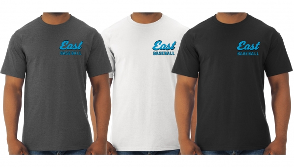 RAIDERS EAST BASEBALL OFFICIAL QUICK-DRI TEE SHIRTS by PACER