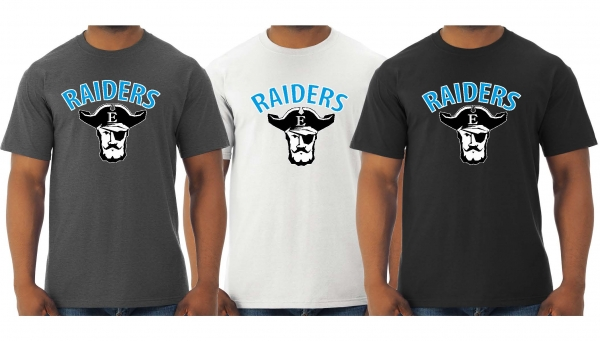 TOMS RIVER EAST RAIDERS QUICK-DRI TEE SHIRTS by PACER