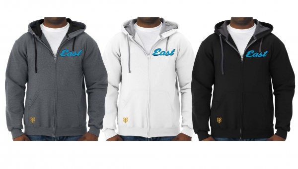 TOMS RIVER EAST FULL ZIP HOODED JACKETS by PACER