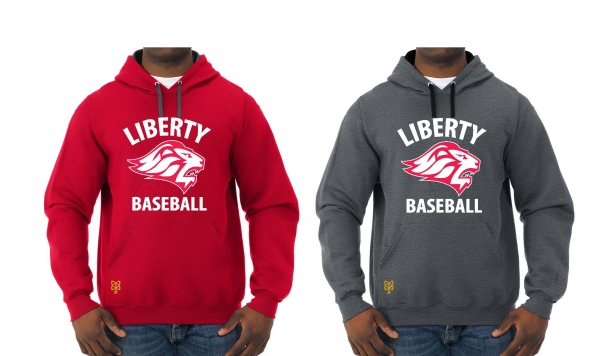 LIBERTY BASEBALL TEAM PULL OVER HOODIES by PACER