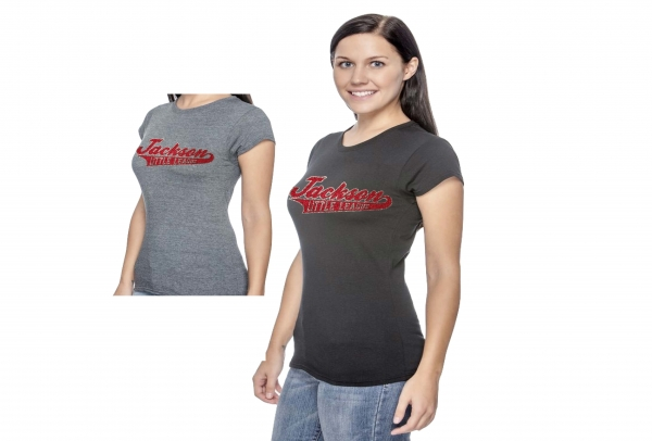 JLL LADIES OFFICIAL GLITTER LIGHTWEIGHT TEE SHIRTS by PACER