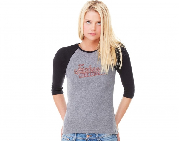 JLL LADIES OFFICIAL RHINESTONE 3/4 RAGLAN SHIRTS by PACER