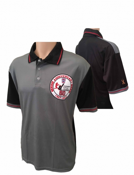 JLL OFFICIAL 60th ANNIVERSARY SUBLIMATED PERFORMANCE POLO by PACER