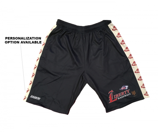 JLHS BASEBALL QUICK-DRY PERFORMANCE MASCOT REPEATING TRAINING SHORTS by PACER