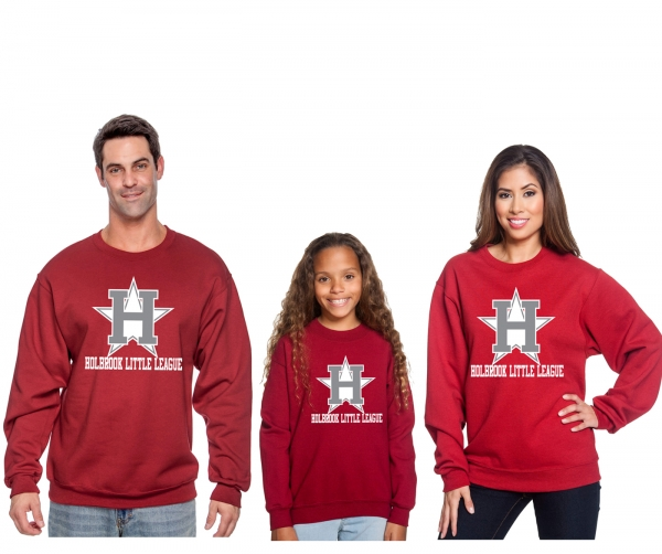 HBLL OFFICIAL ON-FIELD ALL STAR LOGO FLEECE CREW NECK by PACER