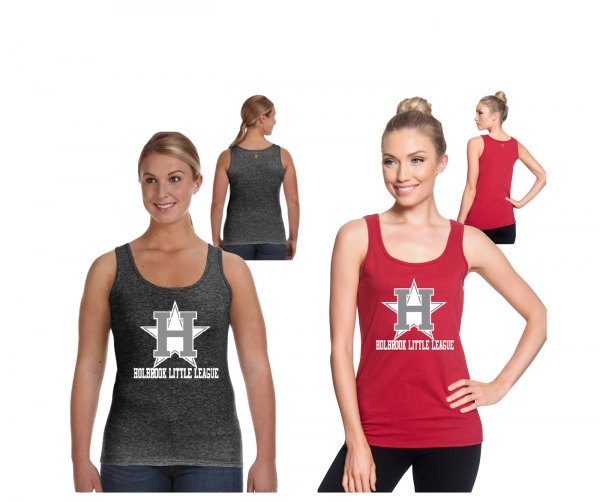 HBLL LADIES OFFICIAL ALL-STAR LOGO LIGHTWEIGHT TANK TOPS by PACER