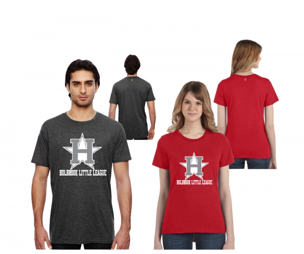 HBLL OFFICIAL ON-FIELD ALL STAR LOGO FASHION HEATHER TEE'S by PACER