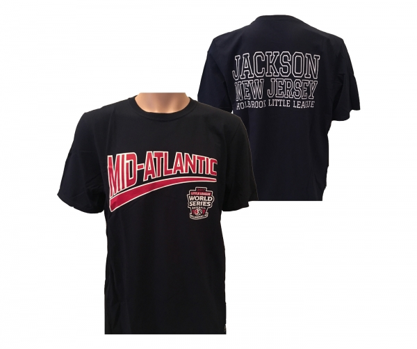 OFFICIAL LITTLE LEAGUE MID-ATLANTIC CHAMPIONS LOGO TEE'S by RUSSELL