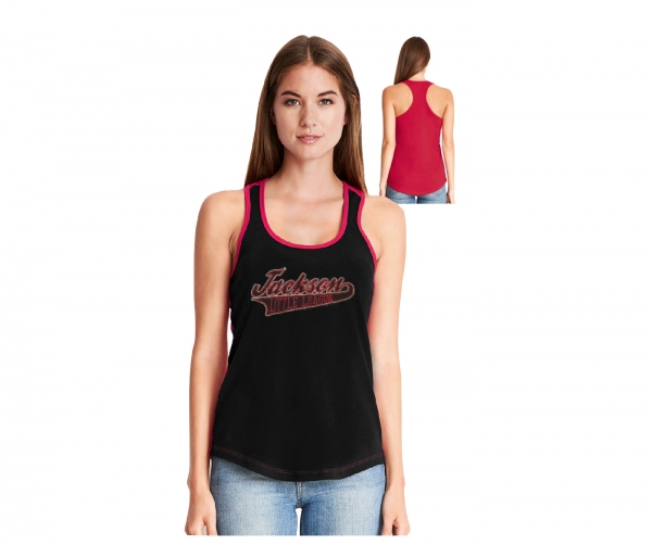 JLL LADIES OFFICIAL RHINESTONE RACER-BACK TANK TOPS by PACER