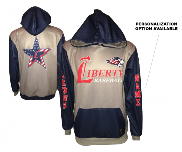 JLHS BASEBALL PERFORMANCE HOODIE BY PACER