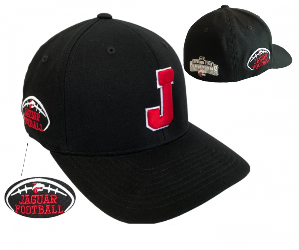 JMHS FOOTBALL 2018 CHAMPIONS PATCH FLEXFIT CAP by PACER