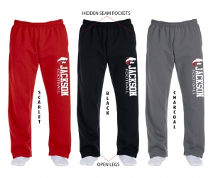 JMHS FOOTBALL OFFICIAL FLEECE SWEATPANTS by PACER