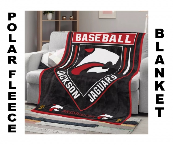 JAGUAR BASEBALL POLAR FLEECE BLANKET by PACER