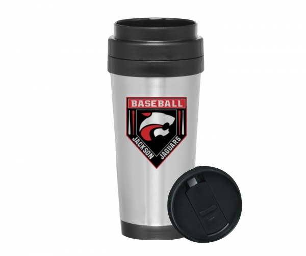 JAGUAR BASEBALL 16oz INSULATED TRAVEL MUG by PACER