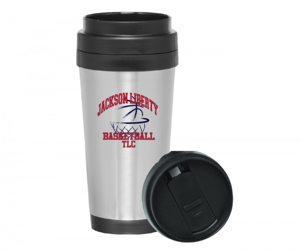 LIBERTY BASKETBALL 16oz INSULATED TRAVEL MUG by PACER