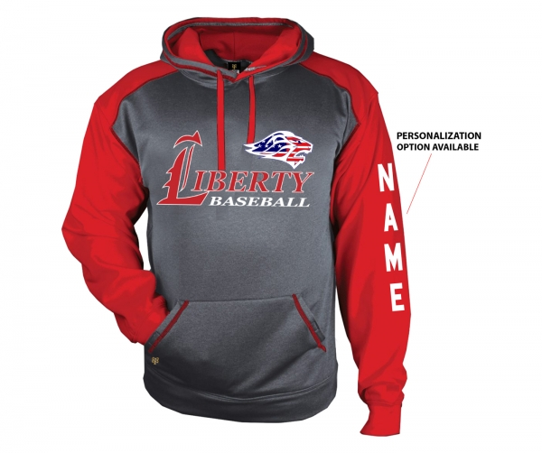 2019 JLHS BASEBALL PREMIUM FLEECE STARS & STRIPES PULL-OVER HOODIE by PACER