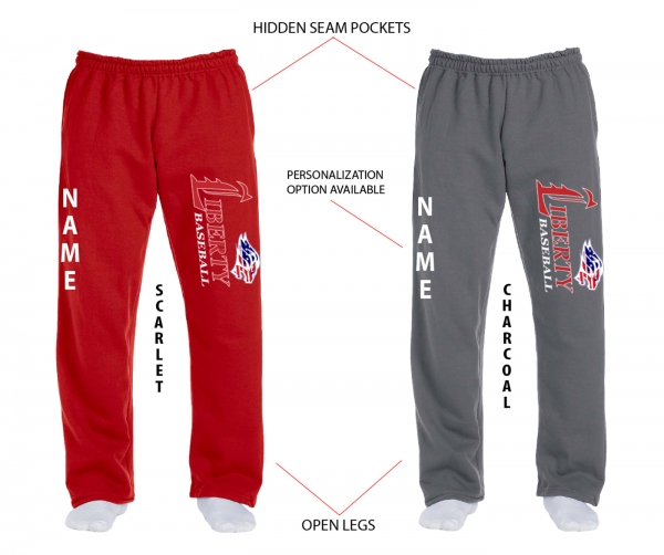 JLHS BASEBALL OFFICIAL STARS & STRIPES FLEECE SWEATPANTS by PACER