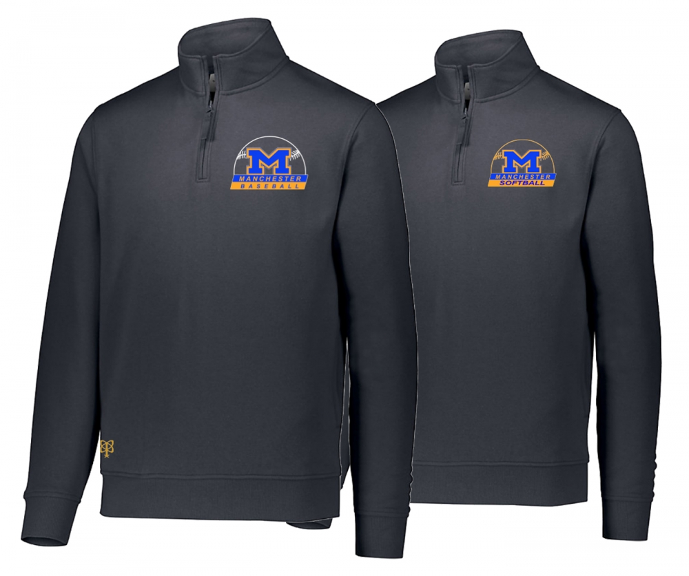 2019 MANCHESTER LITTLE LEAGUE 1/4 ZIP PREMIUM FLEECE by PACER