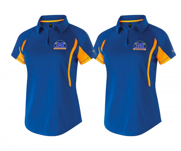MLL OFFICIAL 2019 LADIES PERFORMANCE COACHES POLO by PACER