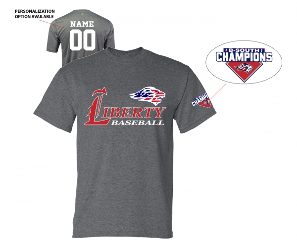 2019 JLHS BASEBALL STARS & STRIPES CONFERENCE CHAMPS PERFORMANCE TEE by PACER