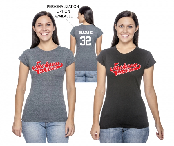 JLL ALL-STAR LADIES FITTED TEE by PACER