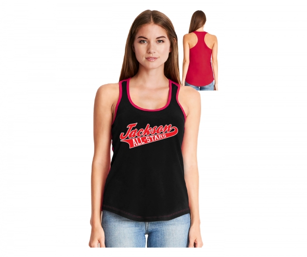 JLL OFFICIAL ON-FIELD ALL-STAR LADIES  RACER-BACK TANK TOPS by PACER