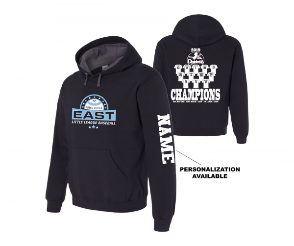 2019 TRELL DISTRICT 18 CHAMPIONS FLEECE ROSTER HOODIE by PACER