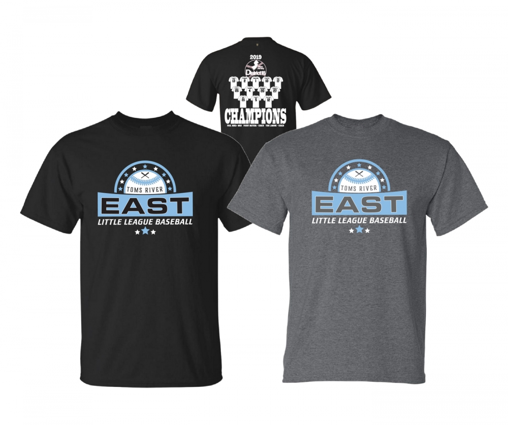 2019 TRELL DISTRICT 18  8-10YR OLD CHAMPIONSHIP COTTON TEE COLLECTION by PACER