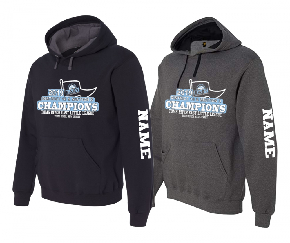 2019 TRELL 8-10yr OLD DUAL CHAMPIONSHIP PENNANT HOODIE by PACER