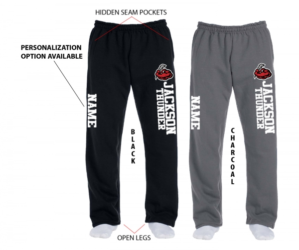 THUNDER OFFICIAL FLEECE SWEATPANTS w POCKETS by PACER