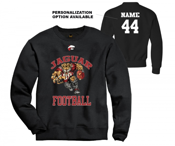 JMHS FOOTBALL HD MASCOT FLEECE CREW by PACER