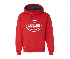 JMHS FOOTBALL INSIDER SEAMS FLEECE PULL OVER HOODIE by PACER