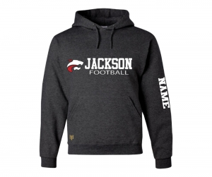 NEW JMHS FOOTBALL HORIZON WORDMARK FLEECE PULL OVER HOODIE by PACER