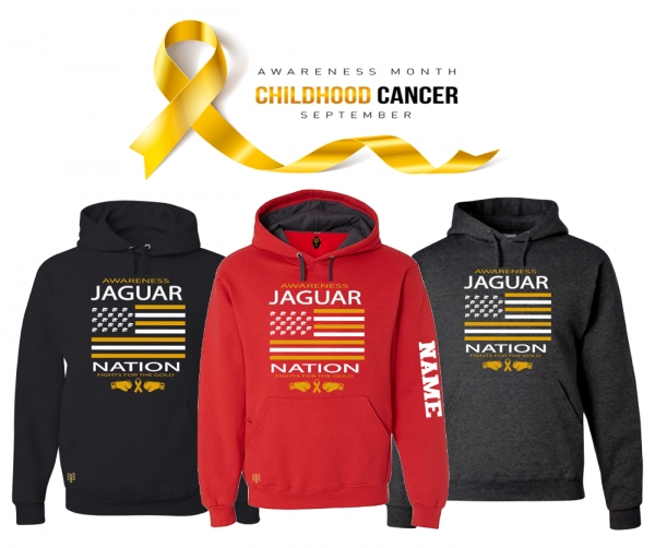JMHS JAGUAR NATION-CHASE RYAN OLSEN FOUNDATION PULL OVER HOODIES by PACER