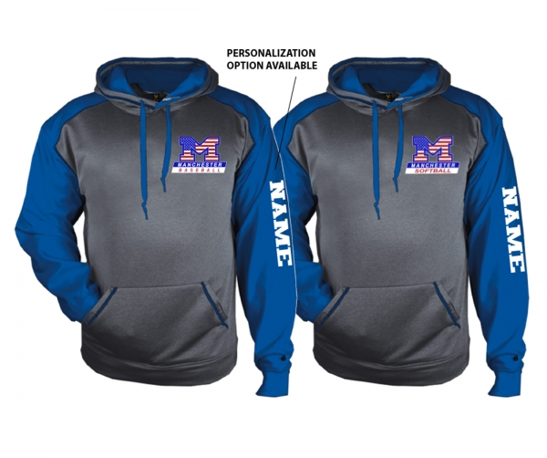 MLL STARS & STRIPES PREMIUM PERFORMANCE FLEECE PULL-OVER HOODIE by PACER