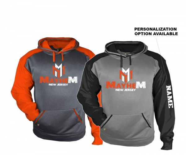 MAYHEM PREMIUM PERFORMANCE FLEECE PULL-OVER HOODIE by PACER