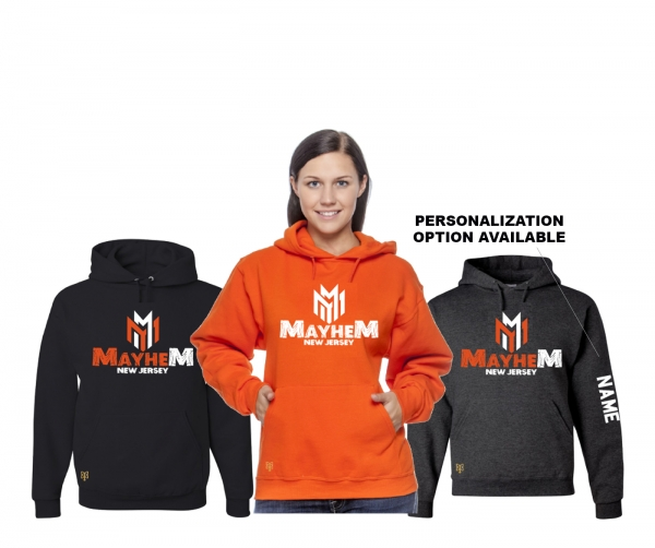 MAYHEM OFFICIAL PLAYER FLEECE PULL OVER HOODIE by PACER