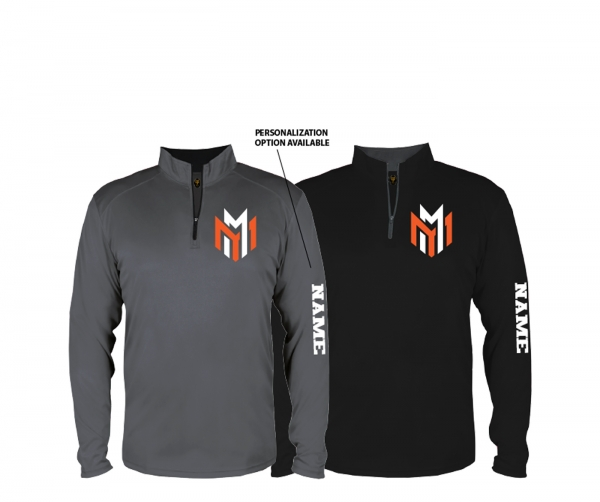 MAYHEM 1/4 ZIP LONG SLEEVE PERFORMANCE CAGE JERSEY  by PACER