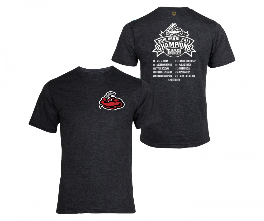 JACKSON THUNDER USABL FALL CHAMPS SHORT SLEEVE ROSTER TEE by PACER