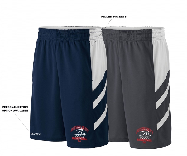 NEW 2020!! LIBERTY BASKETBALL PERFORMANCE TRAINING SHORTS w POCKETS by PACER