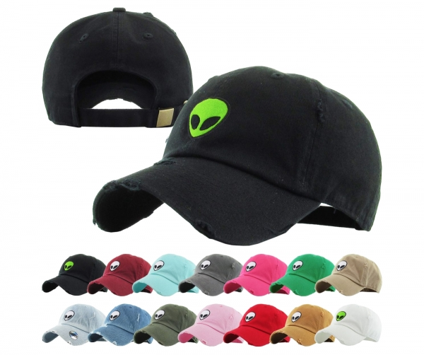 AREA 51 ALIEN DAD HAT by Pacer