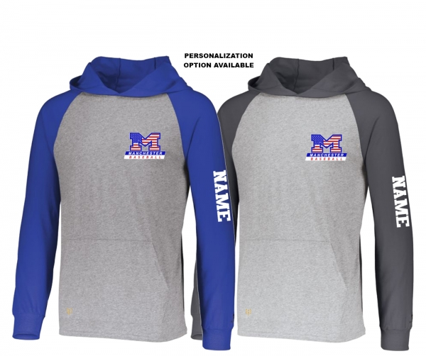 NEW!! MLL STARS & STRIPES LIGHTWEIGHT PULL-OVER HOODIE SHIRTS by PACER