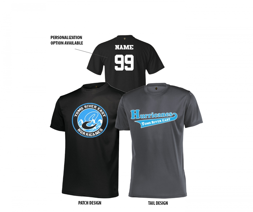 2020 HURRICANES PERFORMANCE TEE COLLECTION by PACER