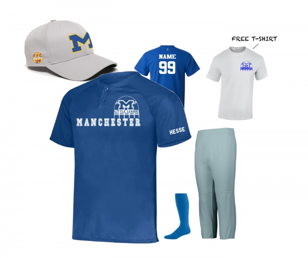 MLL 2020 UNIFORM KIT w FREE TEE SHIRT by PACER