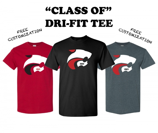 CLASS OF --- DRI-FIT TEE by PACER
