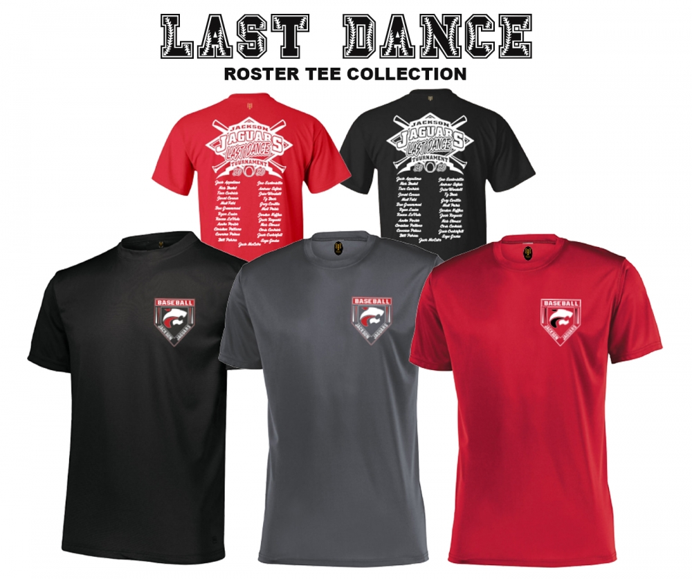 OFFICIAL 2020 LAST DANCE ROSTER TEE COLLECTION by PACER